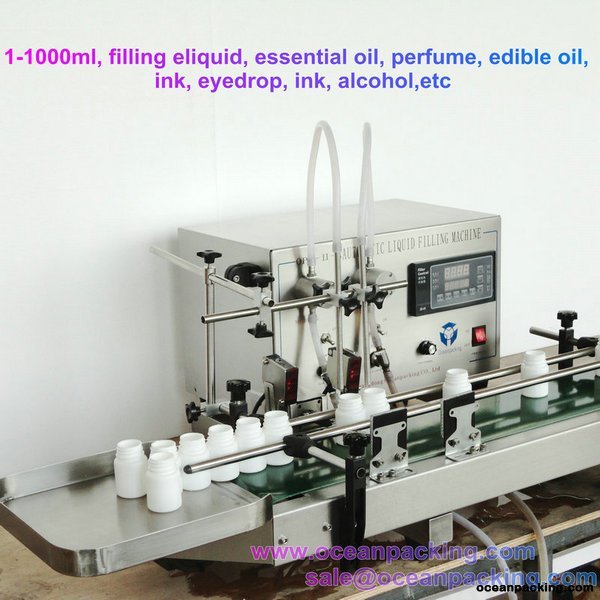 OPH-II-A Automatic Liquid Filling Machine with Double Nozzle