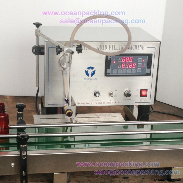 OPH-I-A automatic liquid filling machine for small factory