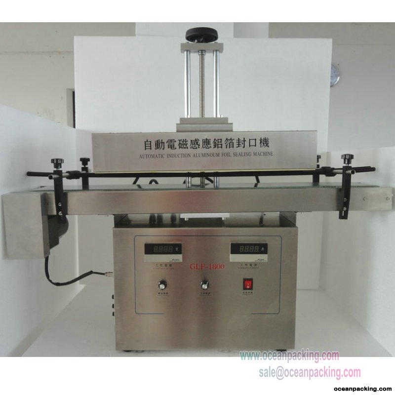 GLF-1800 Automatic Sealing Machine For Big Bottles