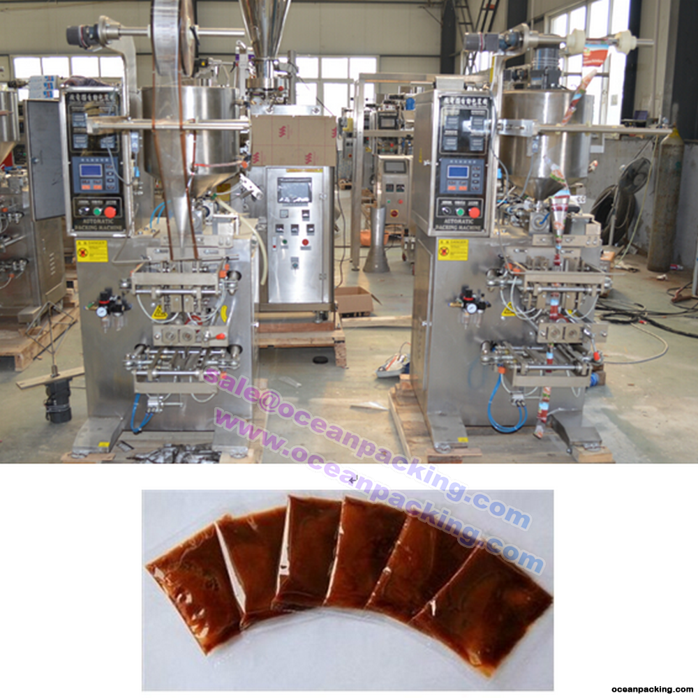 automatic bag filling sealing machine