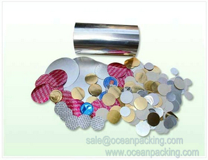 Aluminum Foil Sealing Material For Bottles