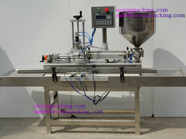 OPFP-A11 small automatic viscous filling machine